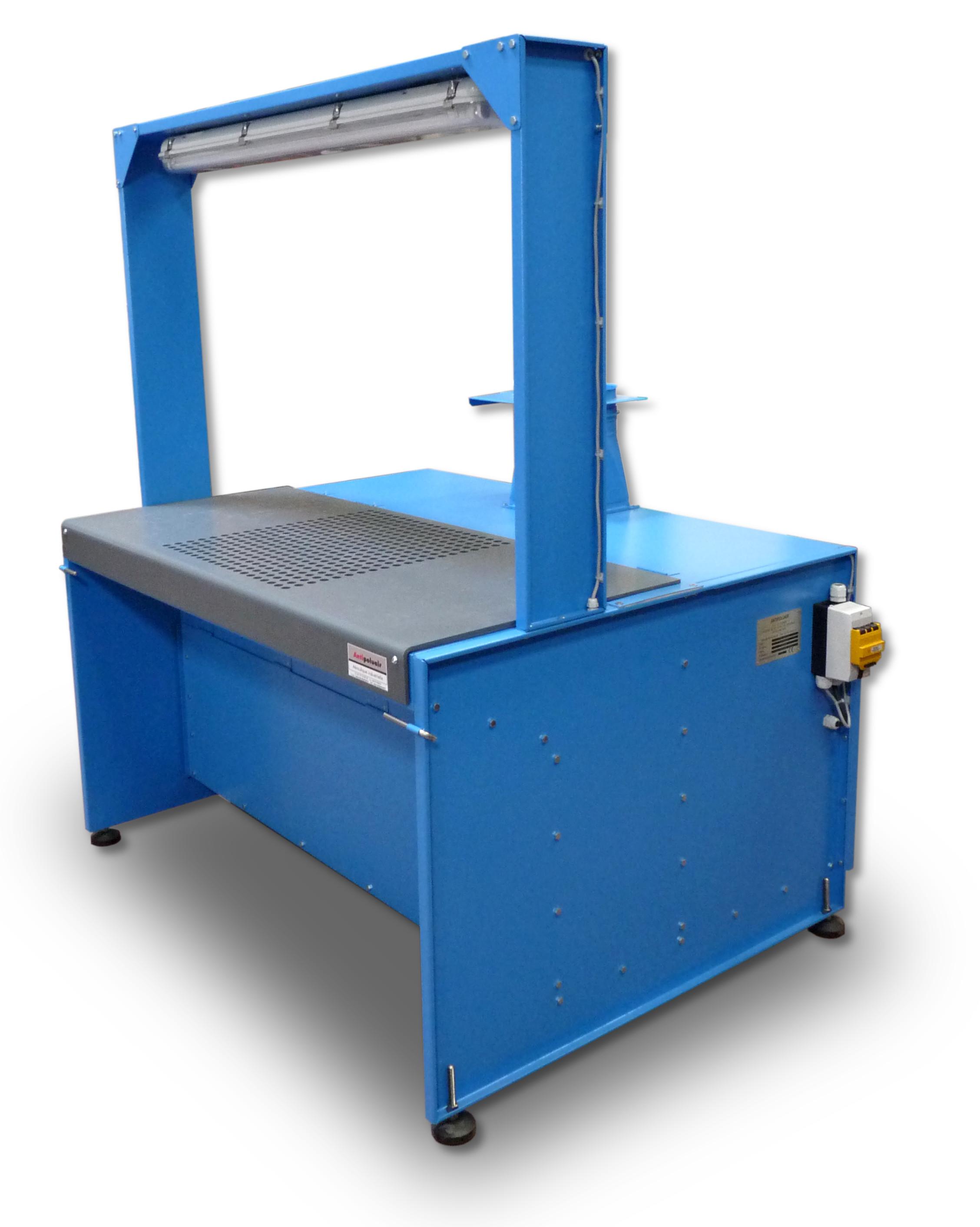 suction tables - antipoluair